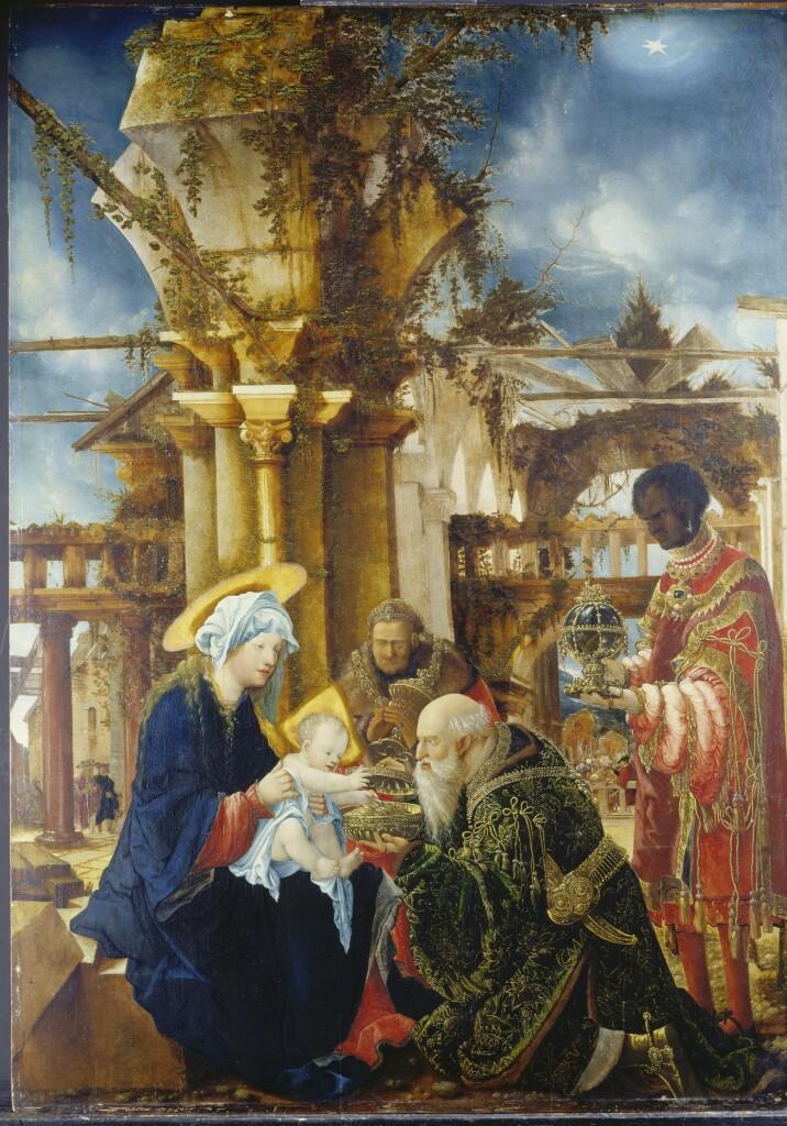Albrecht Altdorfer, L'Adoration des Mages