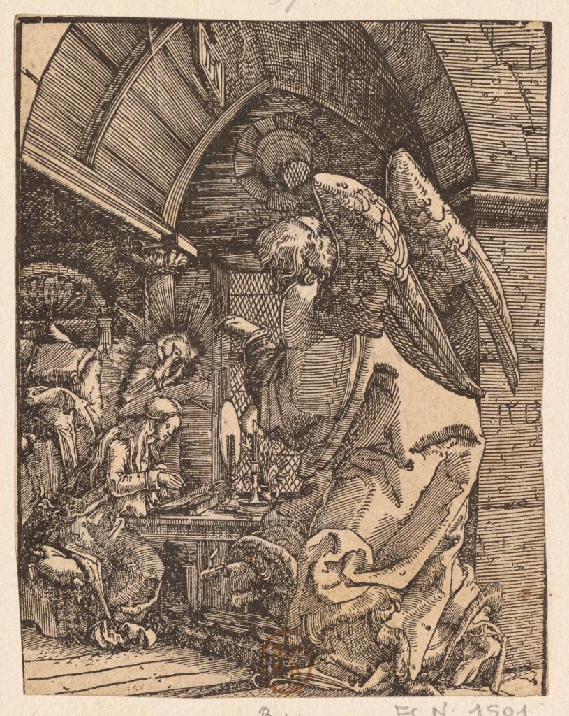 Albrecht Altdorfer, L'Annonciation