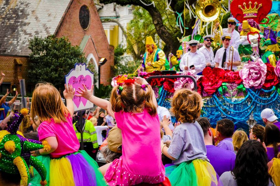 Parade du mardi Gras - Carnaval New Orléans