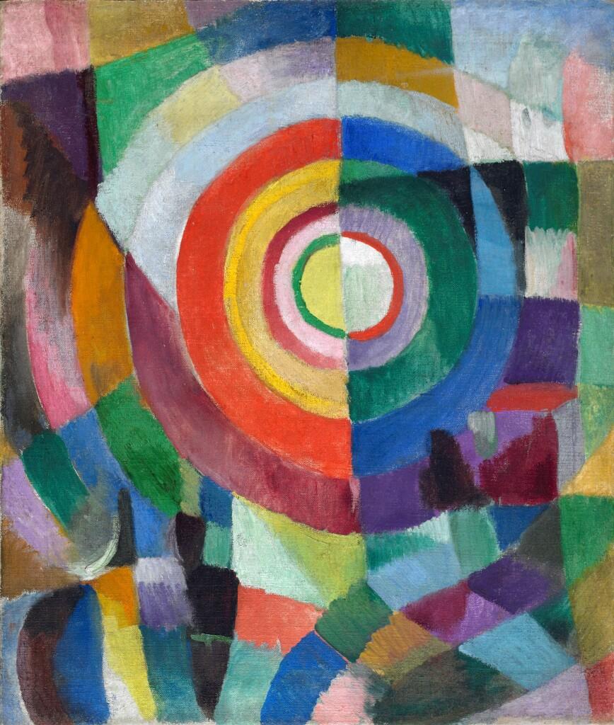 Sonia Delaunay, Prismes électriques, 1913-14