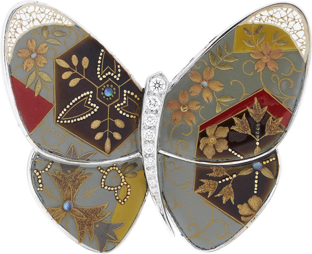 Clip papillon Karakusa, 2012