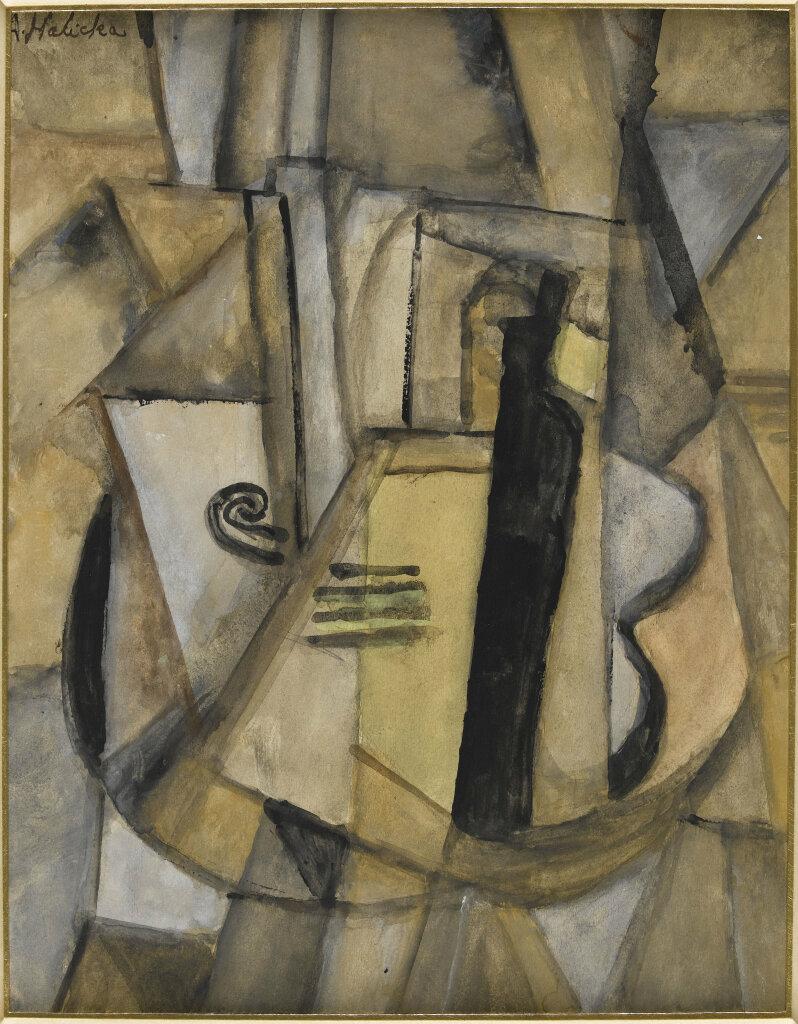 Alice Halicka, Nature morte cubiste, 1915