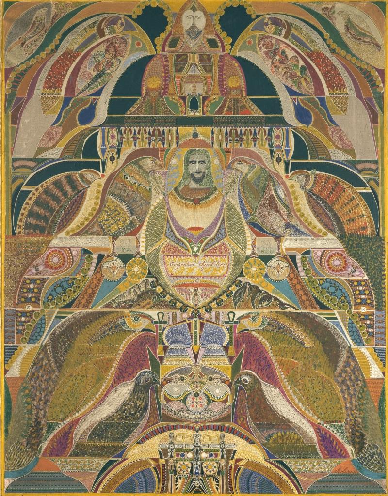 Augustin Lesage, Composition symbolique, 1928