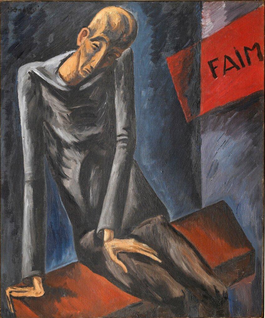 Mondzain, La Faim, 1914