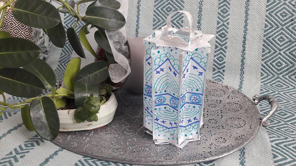 Atelier - Confection d'une lampe en papier