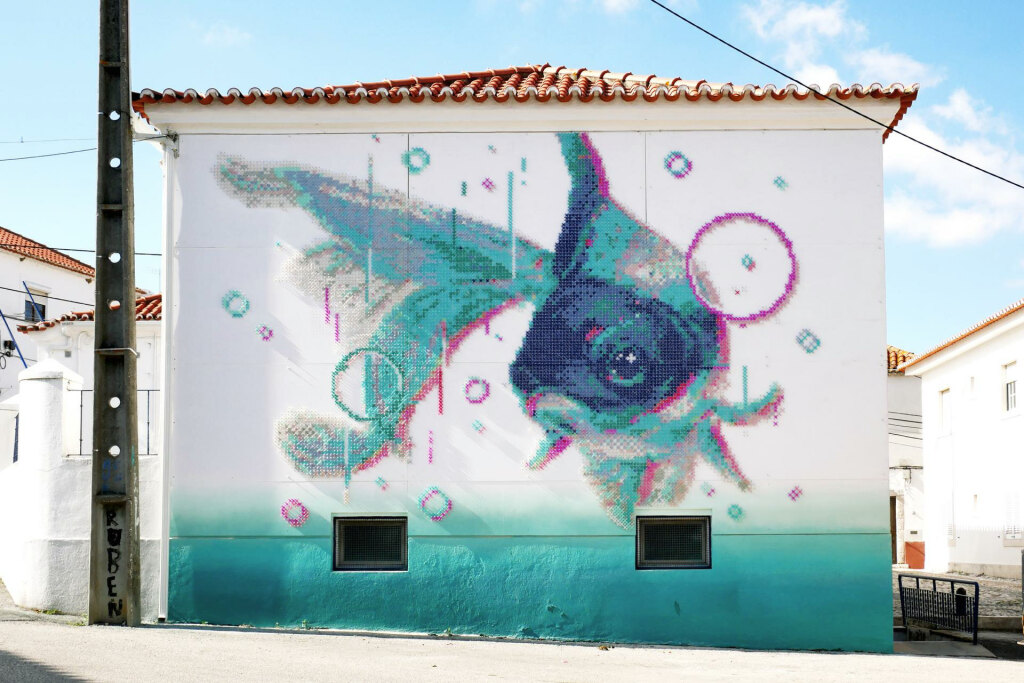 Du Street Art Au Point De Croix La Brillante Idee D Aheneah Arts In The City