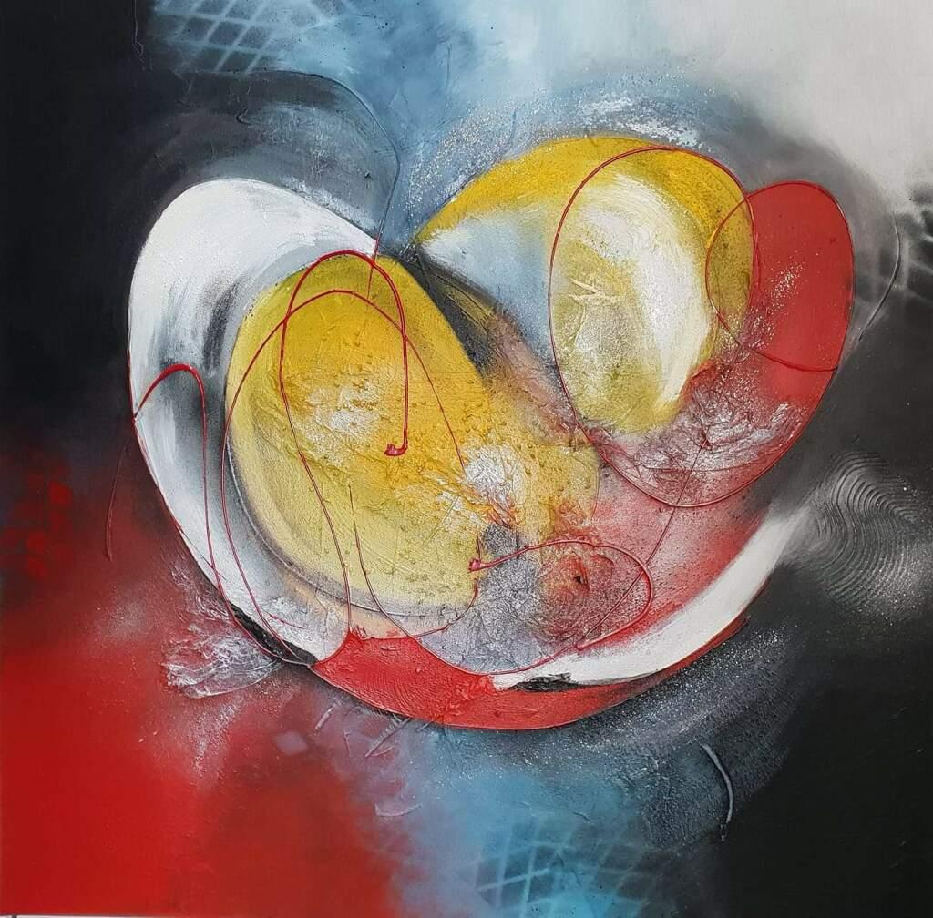 STRESSER, Nathalie, Energie, technique acrylique, style abstrait