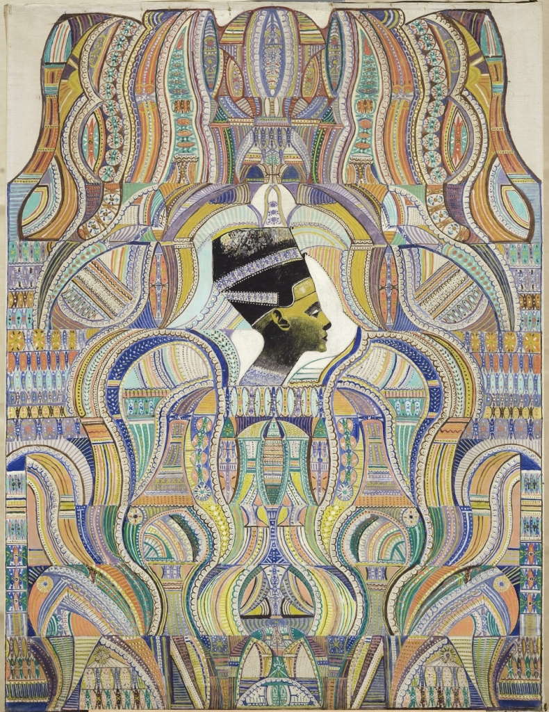 Augustin Lesage, Néfertiti, 1952