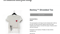 Banksy PIB Shredded Tee