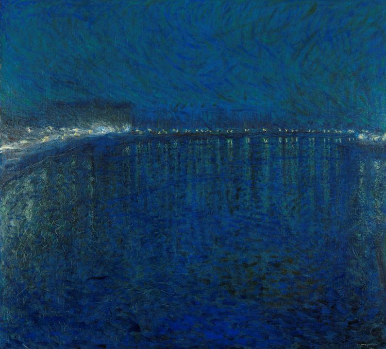 Expo Nuits électriques MUMA - Eugène Jansson, Nocturne, 1900