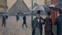 Expo Nuits électriques MUMA - Gustave Caillebotte Rue de Paris, temps de pluie