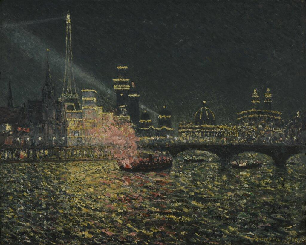 Expo Nuits électriques MUMA - Maxime Maufra, Féérie nocturne : Exposition Universelle, 1900