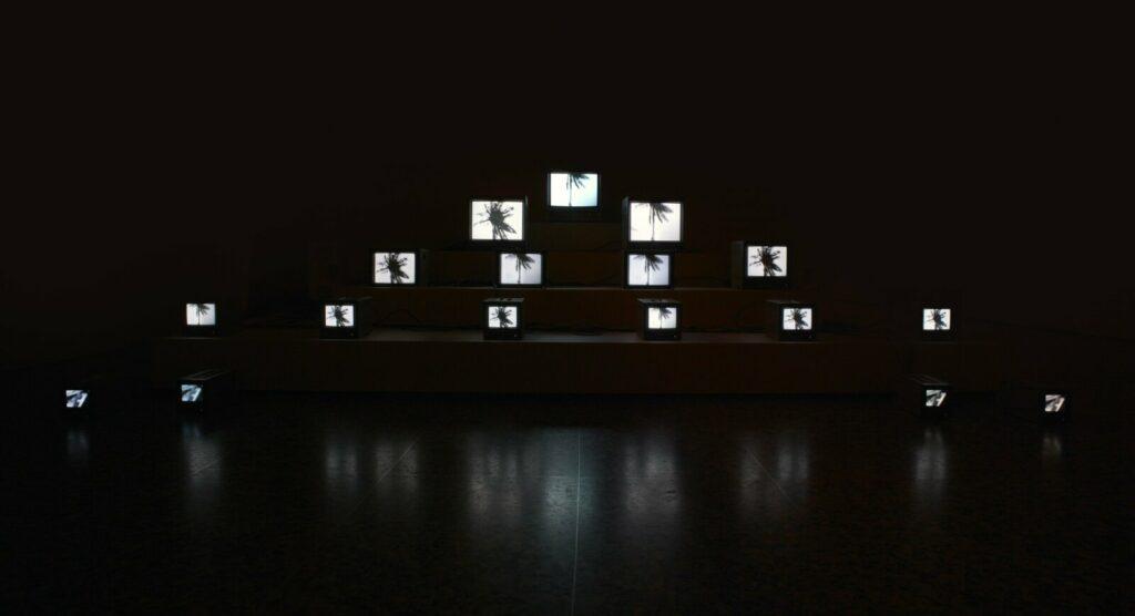 Exposition À toi appartient le regard au musée du quai Branly- José Alejandro Restrepo, Paso del Quindío I, 1992