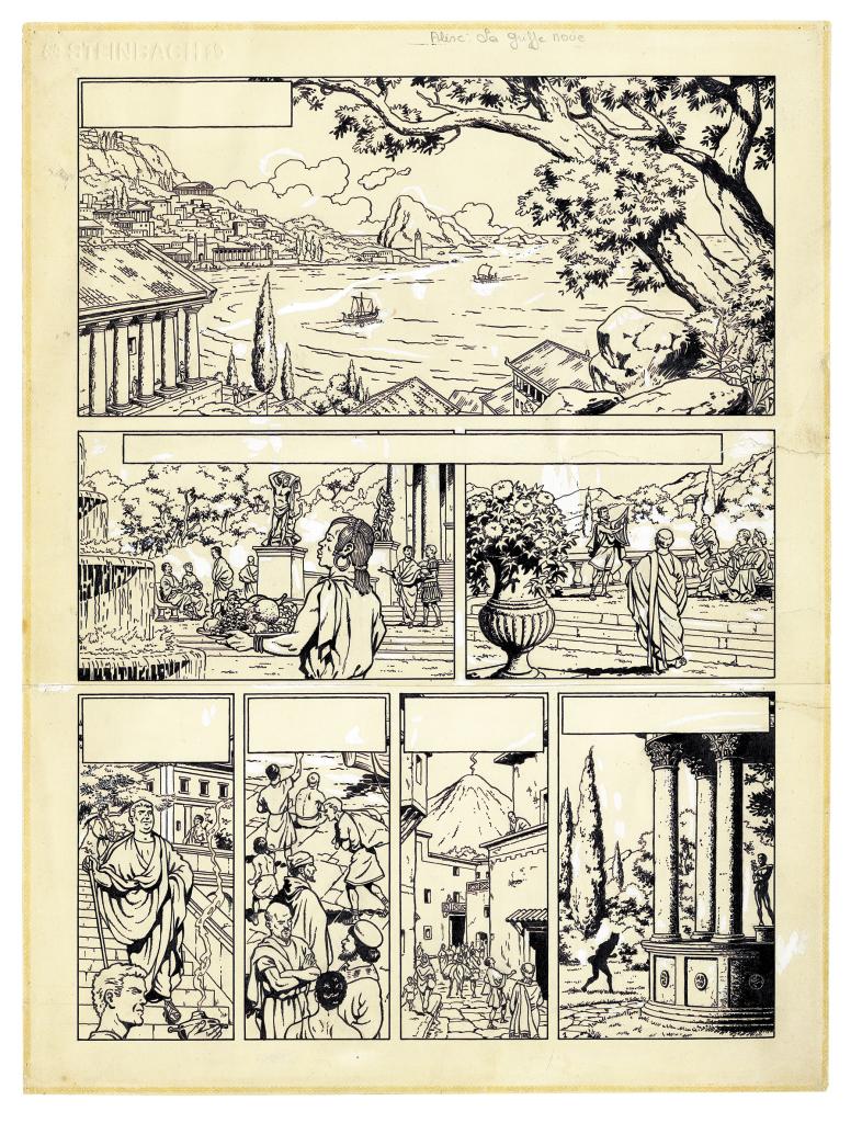 Exposition Alix, 70 ans d'aventure - Espace Richaud