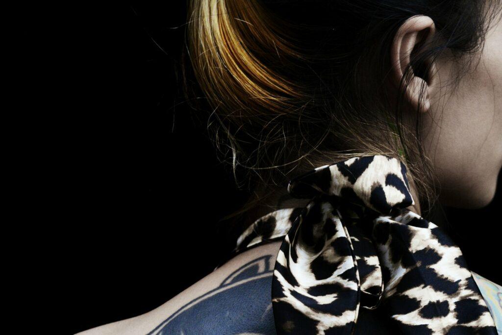 Exposition les curiosités du monde de Françoise Huguier au musée du Quai Branly-Bangkok, tatouages, 2013 - Françoise Huguier - Quai Branly
