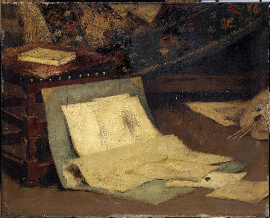 Exposition Musée de Vernon - Claude Monet, coin d'atelier