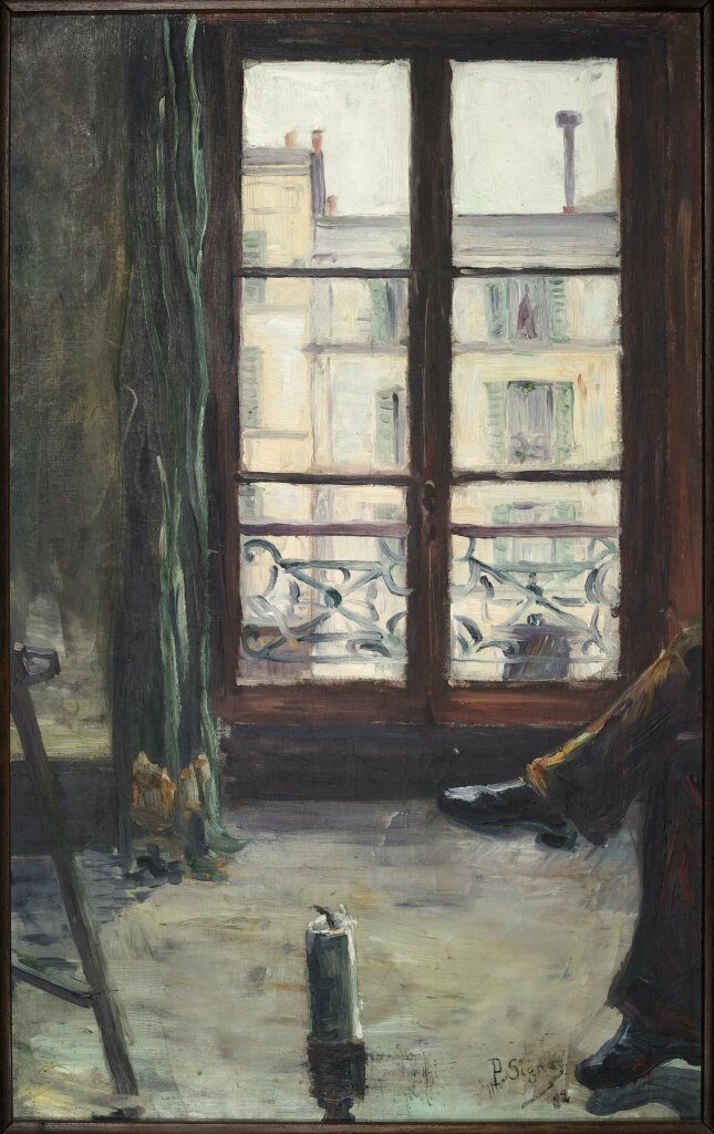 Exposition Musée de Vernon - Paul Signac, Etude de Montmartre