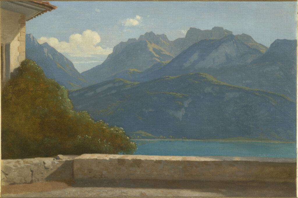 Exposition Musée des Impressionnismes - Théodore Caruelle d'Aligny, Vue du Lac d'Annecy