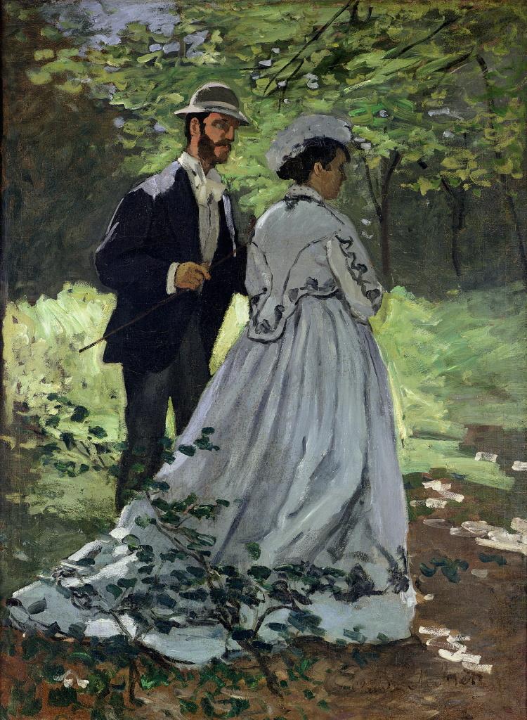 Exposition Musée des Impressionnismes - Monet, les promeneurs