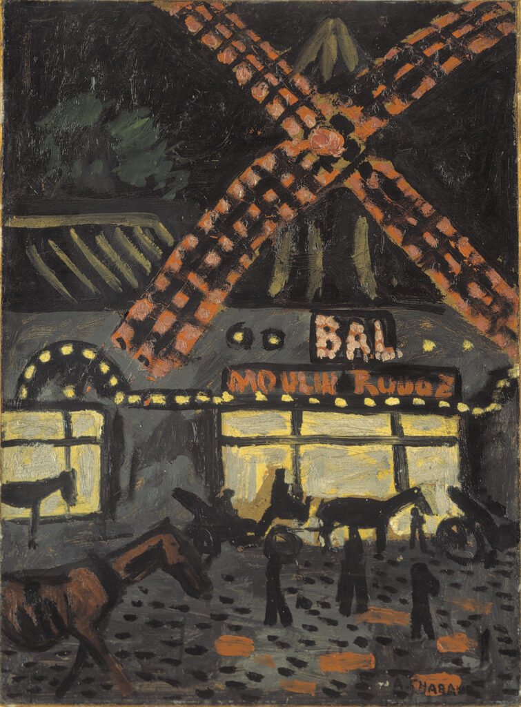 Auguste Chabaud, Le moulin rouge