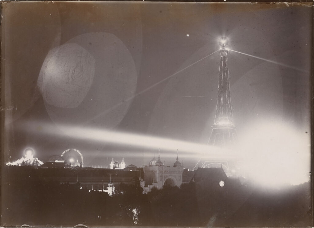 Loppé Gabriel, Illuminations de la Tour Eiffel