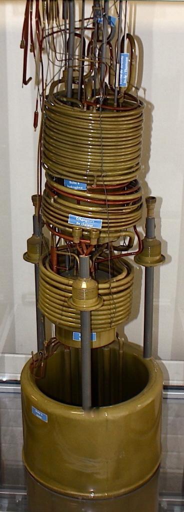 Exposition Prototypes - Liquéfacteur mixte hydrogène-hélium, dit liquéfacteur Lacaze-Weil
