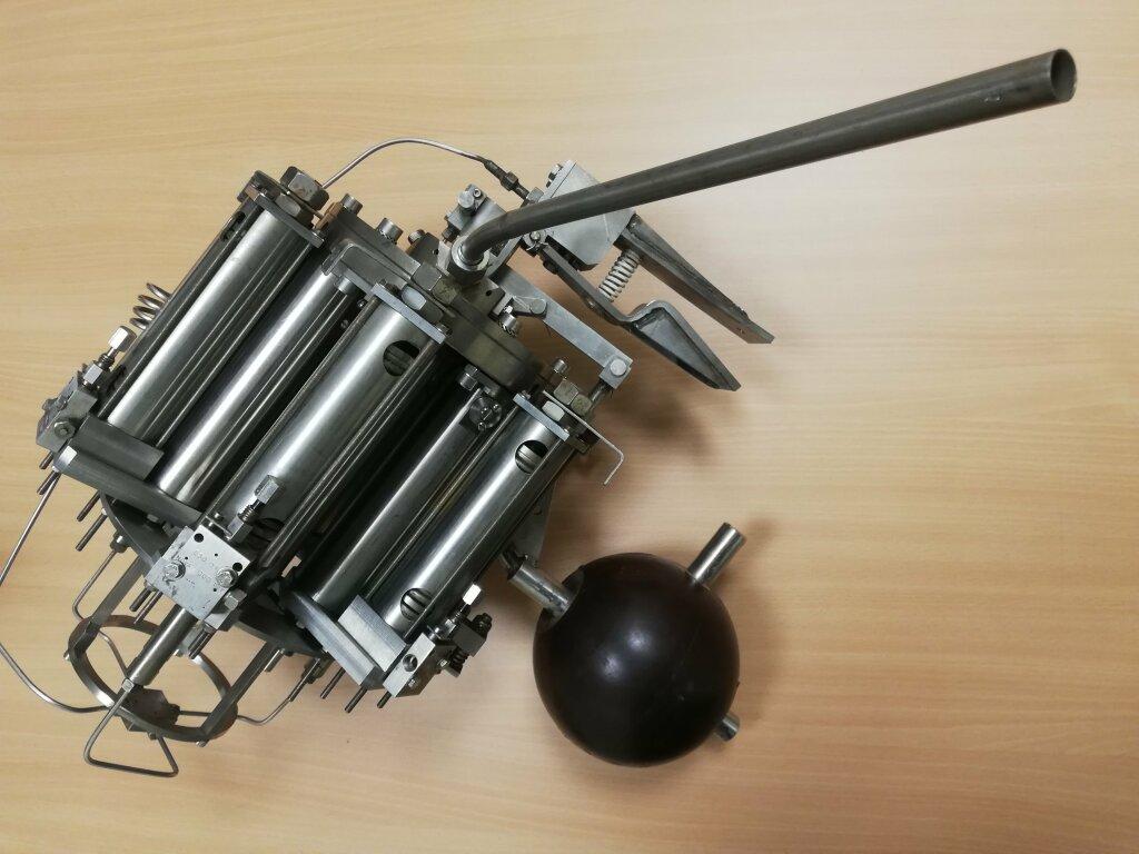 Exposition Prototypes - Préleveur de fluide hydrothermal