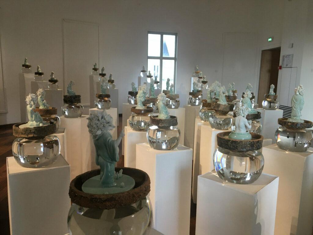 Exposition Ru Xiao Fan au musée Guimet-Vue de l'exposition
