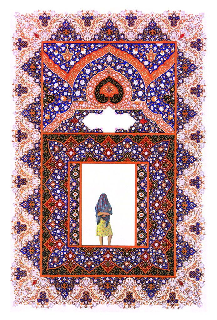 Gravure et impression de Rania Werda, 2016