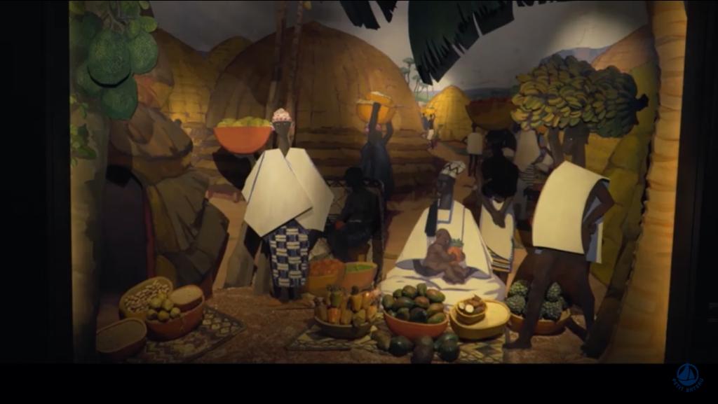 Exemple Diorama - Capture d'écran atelier Tok Tok - Palais de Tokyo