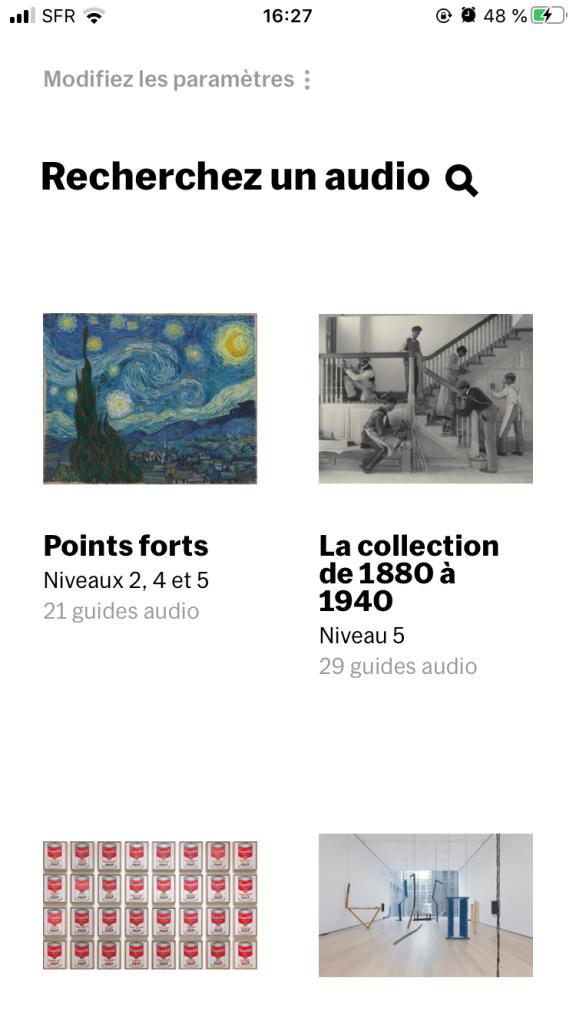 MoMA audio - The Museum of Modern Art