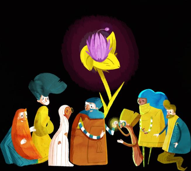 Conte Iris et les graines lumineuses