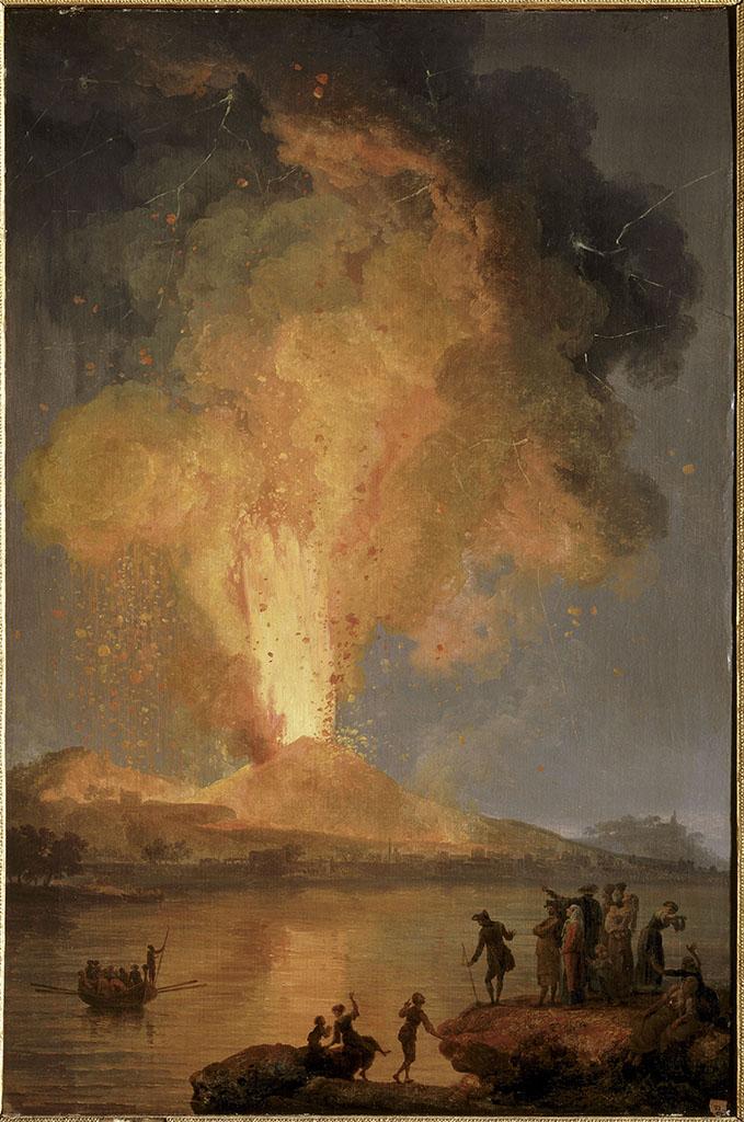 Eruption du Vésuve