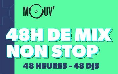 Le Mouv propose un mix de 48h pour le week-end