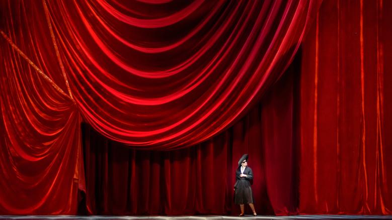 """Première de """"Lucia di Lammemoor"""" à l'Opéra de Perm en Russie"""