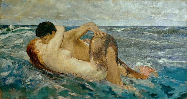 Max Klinger, La Sirène, 1895