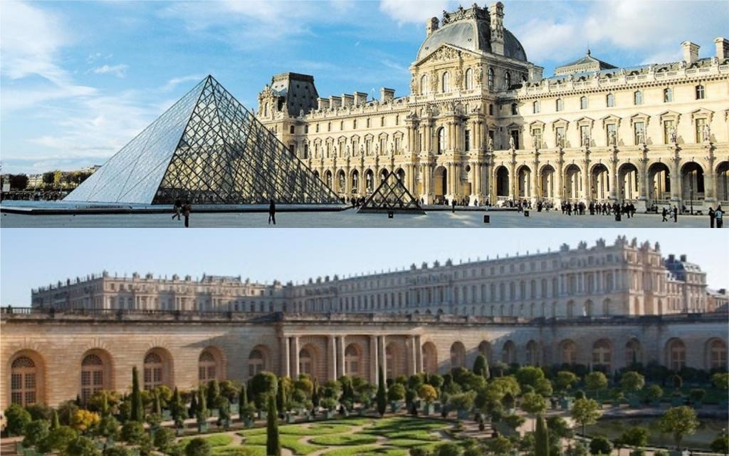 Musée du Louvre et Château de Versailles
