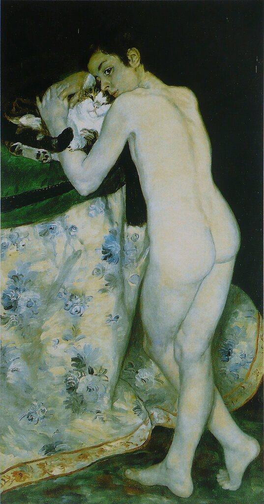 Pierre-Auguste Renoir, Garçon au chat