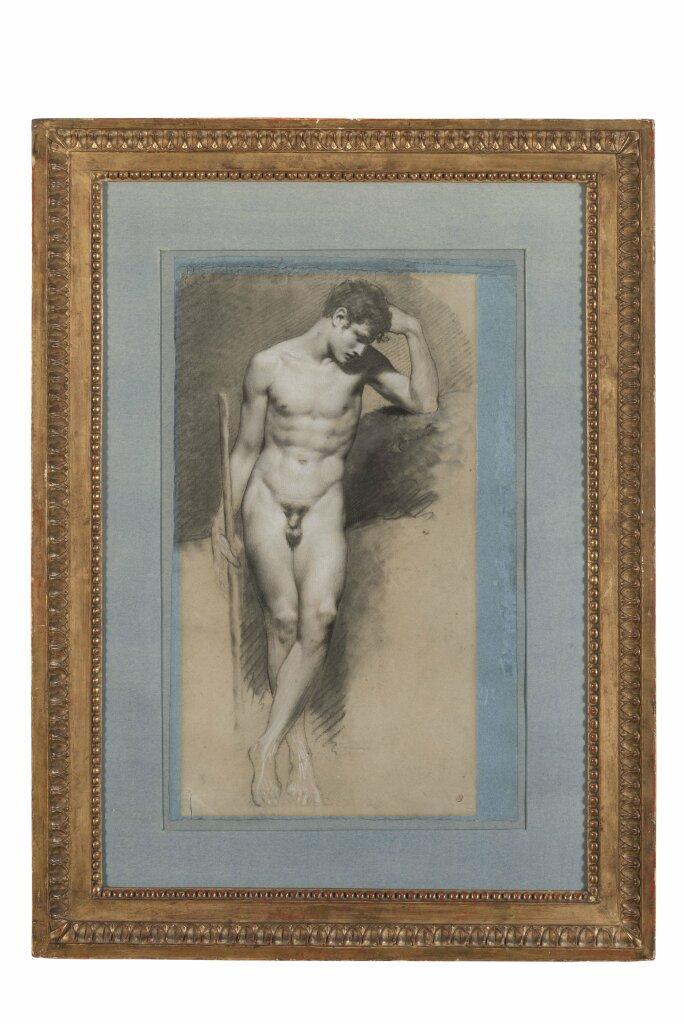 Pierre Paul Prud'hon, Jeune homme nu, vers 1820