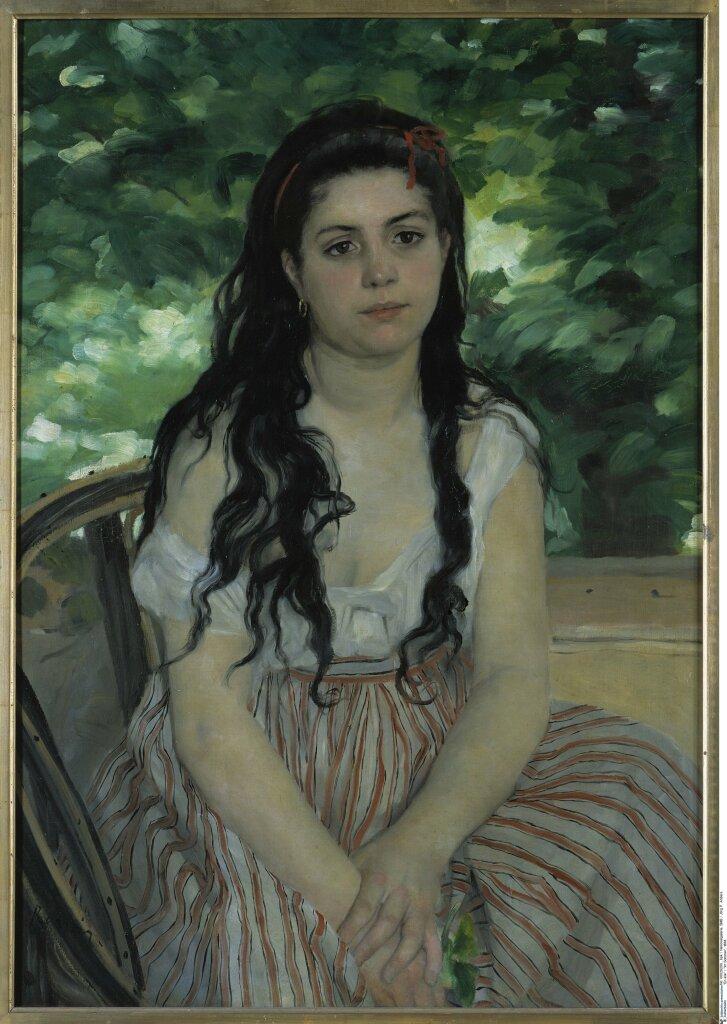 Renoir Auguste , Lise ou La Bohémienne à l'ombrelle