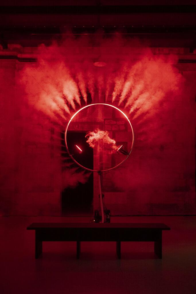 Roman Weil, S.M.1.B Smoke Machine 1B, Exposition Ambient Party Machine au musée des Arts décoratifs et du Design de Bordeaux
