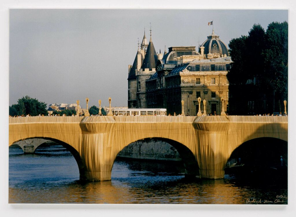 The Pont Neuf Wrapped, Paris 1975-85