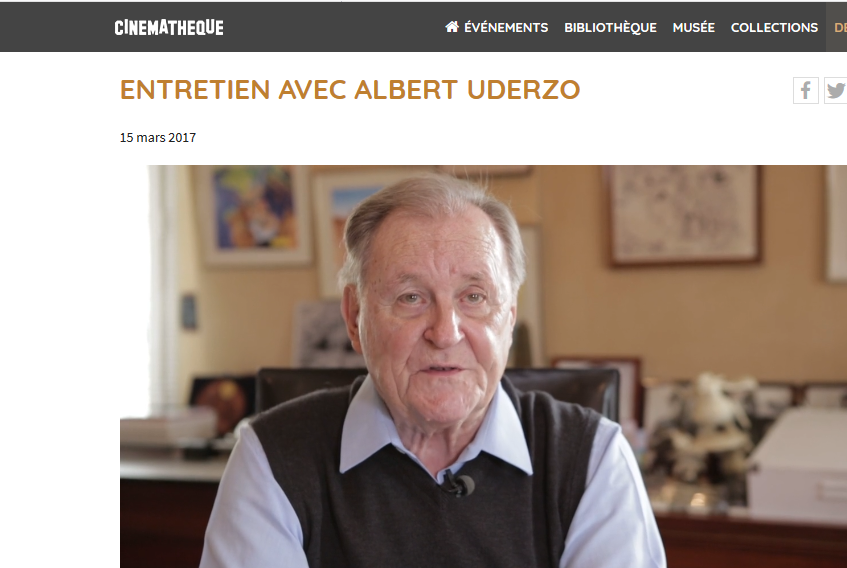 Entretien avec Albert Uderzo