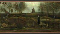 Van Gogh Jardin du presbytère de Nuenen au printemps vol Pays-Bas