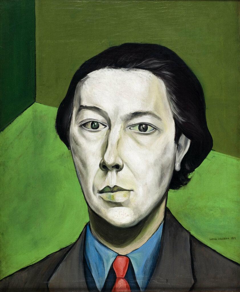 Victor Brauner, Portrait d'André Breton