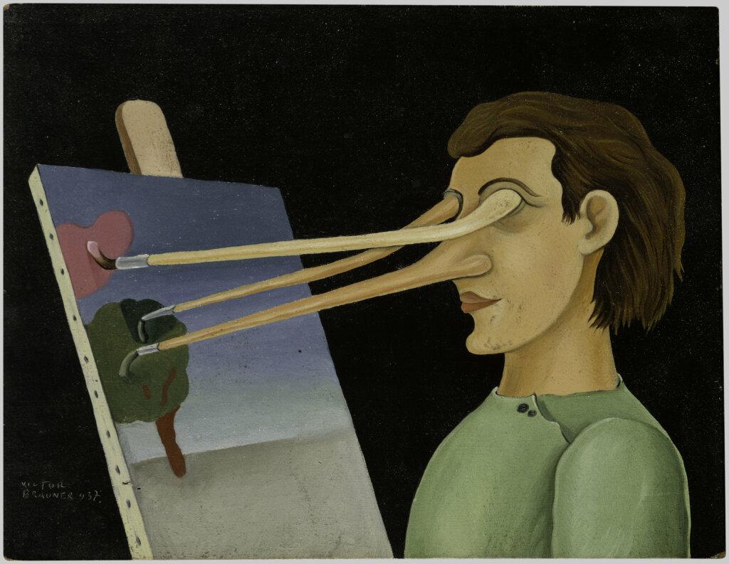 Victor Brauner, Sur le motif