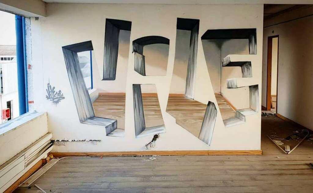 Vile, Illusion murale