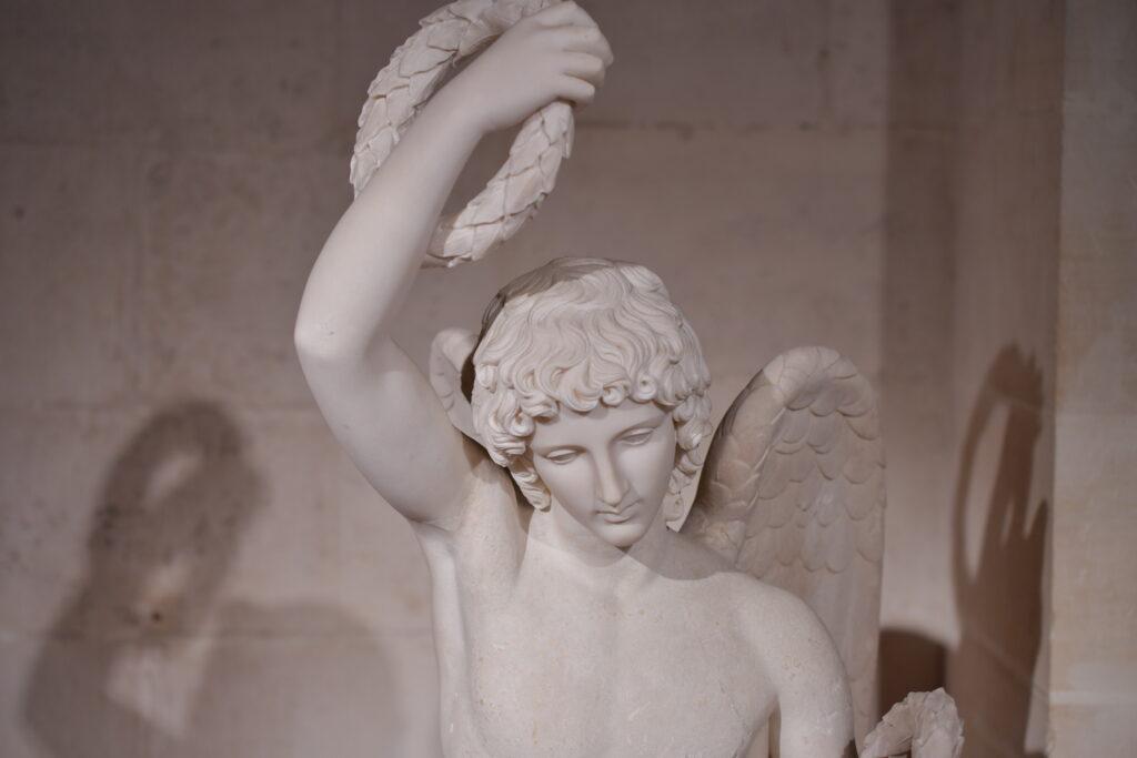 Vue de l'exposition d'Alésia à Rome au Musée d'Archéologie Nationale