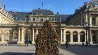 Vue de l'installation de Carmen Mariscal - Place du Palais Royal
