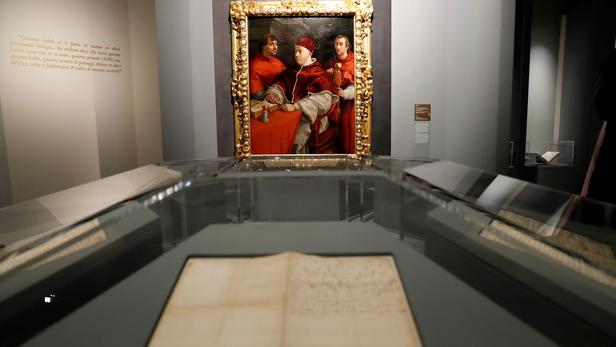 Exposition Raphaël en Italie